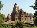 Temples at Khajuraho, India Royalty Free Stock Photo