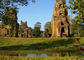Temples near Angkor Wat Stock Photo