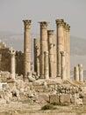 Templo de Artemis, Jerash Fotografía de archivo libre de regalías