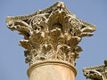 Templo de Artemis, Jerash Fotografía de archivo