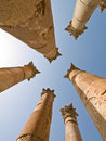 Templo de Artemis, Jerash Imagens de Stock