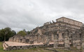 Templo de los Guerreros Temple of the Warriors at Chichen Itz Mayan Ruins on Mexico's Yucatan Peninsula Royalty Free Stock Photo