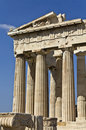 Templo do Parthenon em Atenas, Greece Foto de Stock