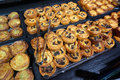 Tempting French Pastry in Paris France Royalty Free Stock Photo
