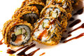 Tempura maki Royalty Free Stock Photo