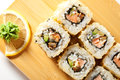 Tempura Roll Royalty Free Stock Images