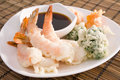 Tempura Shrimp Royalty Free Stock Photo