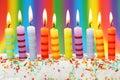 Desať narodeninové sviečky