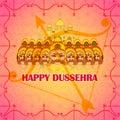 Ten head Ravana in Happy Dussehra