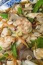 Ten igredient sea food chinese Stock Image