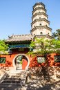 Ten party temple shifang temple and pagoda was built in the tang dynasty was built in the sui dynasty reconstructed Royalty Free Stock Photography