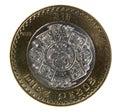 Ten Pesos Coin Stock Photos