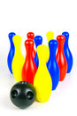Ten Pin Bowling Royalty Free Stock Photo