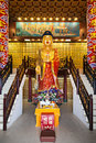 Ten thousand buddhas monastery hong kong china march statue at in hong kong on march hong kong china its one of the most popular Royalty Free Stock Image