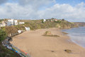 Tenby beach and coast Pembrokeshire Wales UK Stock Photo