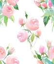 Tender delicate cute elegant lovely floral colorful spring summer red, blue, purple and yellow wildflowers and pink roses with gre