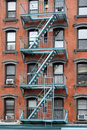 Tenement de New York City Foto de Stock