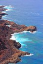 Tenerife coast canary islands spain beautiful rocky near buenavista del norte north Stock Photography