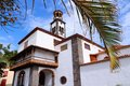 Tenerife landmark santa cruz de canary islands spain concepcion church old Royalty Free Stock Photos