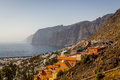 Tenerife los gigantes canary islands spain travel location famous place Stock Photo
