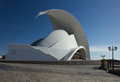 Tenerife spain january auditorio de tenerife on january in tenerife spain it is designed by architect santiago calatrava valls and Royalty Free Stock Photography