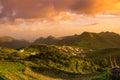 Tenerife on sunset Royalty Free Stock Photo