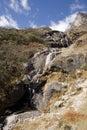 Tenga Waterfall - Nepal Royalty Free Stock Photo