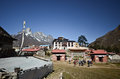 Tengboche - Himalaya village Stock Photos