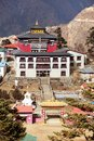 Tengboche Monastery, the best monastery in Khumbu Royalty Free Stock Photo