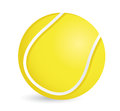 Tennis ball illustration design over a white background Stock Photos
