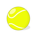 Tennis ball illustration isolated drawing Stock Photography