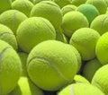 Tennis balls. Royalty Free Stock Photo