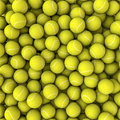 Tennis balls background Stock Photos