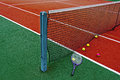 Tennis Balls & Racket-7 Royalty Free Stock Photography