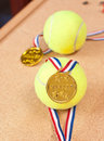 Tennis Champion Royalty Free Stock Photo