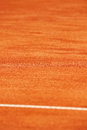 Tennis clay court detail Royalty Free Stock Photo