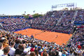 Tennis court of Barcelona Royalty Free Stock Images