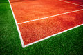 Tennis court close up background Stock Images