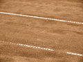 Tennis court line lines outside in a Stock Photography