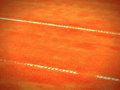Tennis court line lines a wonderful background Royalty Free Stock Photo