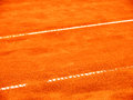 Tennis court line lines a wonderful background Royalty Free Stock Photos