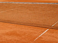 Tennis court line with net (68) Royalty Free Stock Photos