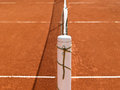 Tennis court line with net (70) Stock Photos