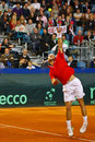 Tennis Davis Cup Austria vs. France Royalty Free Stock Photo