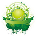 Tennis design element Royalty Free Stock Image