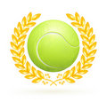 Tennis emblem Royalty Free Stock Images
