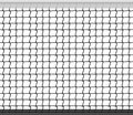 Tennis Net Horizontal Seamless Pattern Background. Vector Illustration Royalty Free Stock Photo