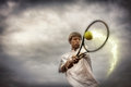 image photo : Tennis player