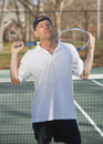 Tennis pro Stock Photo