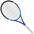 Tennis racket gear for the game vector illustration Stock Image
